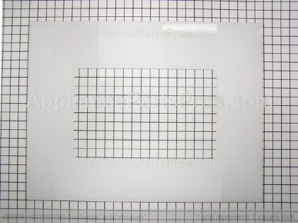 Whirlpool Glass, Door (wht) 74004512 from AppliancePartsPros.com