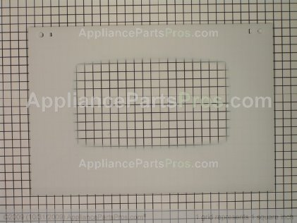 Whirlpool Glass, Door (wht) 74008962 from AppliancePartsPros.com