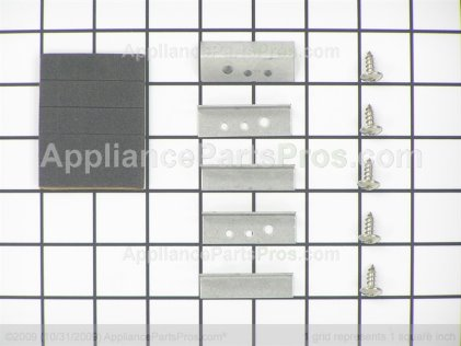 Whirlpool Glass Kit, Cooktop Blk 12001300 from AppliancePartsPros.com