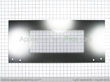 Whirlpool Glass, Outer (black Model) 4450382 from AppliancePartsPros.com