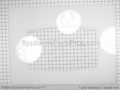 Whirlpool Glass, Outer Door 74008681 from AppliancePartsPros.com