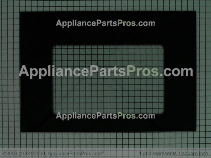 Whirlpool Glass, Outer Door (stainless Steel) 9756417 from AppliancePartsPros.com