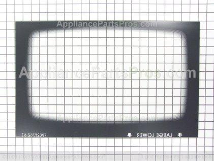 Whirlpool Glass, Oven Door (stl 74010042 from AppliancePartsPros.com