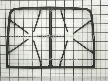 Whirlpool Grate (blk) 74011706 from AppliancePartsPros.com