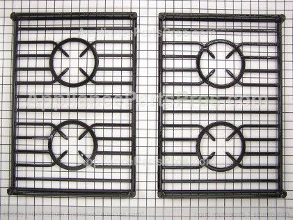 Whirlpool Grate, Burner (black) 9759932BL from AppliancePartsPros.com