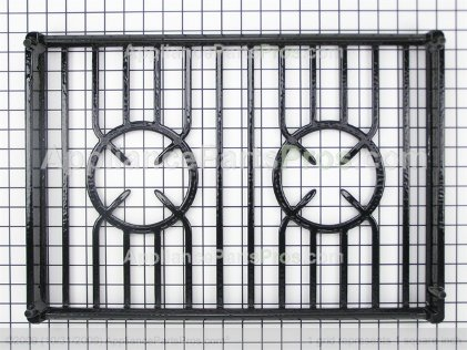 Whirlpool Grate, Burner (black) 9760230BL from AppliancePartsPros.com