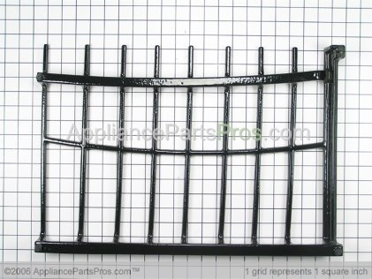 Whirlpool Grate, Burner (right) 9759756BL from AppliancePartsPros.com