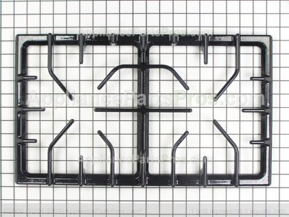 Whirlpool Grate, Double (blk) 74009044 from AppliancePartsPros.com