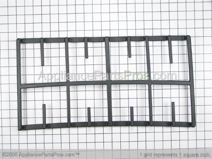 Whirlpool Grate Right Hand (black) 8285894BL from AppliancePartsPros.com
