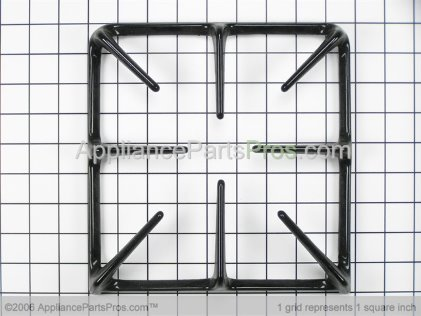 Whirlpool Grates, Black Kit of 4 12500055 from AppliancePartsPros.com