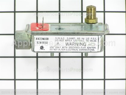 Whirlpool Grill Valve 8284858 from AppliancePartsPros.com