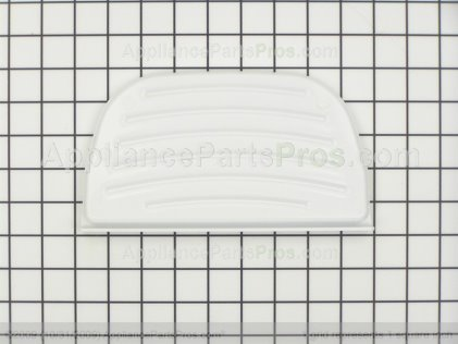 Whirlpool Grille, Overflow (white) 2180241 from AppliancePartsPros.com