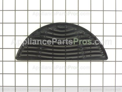 Whirlpool Grille, Sump (blk) 67005489 from AppliancePartsPros.com