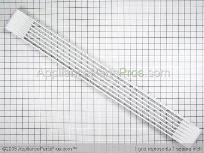 Whirlpool Grille/toe, White D7786703 from AppliancePartsPros.com