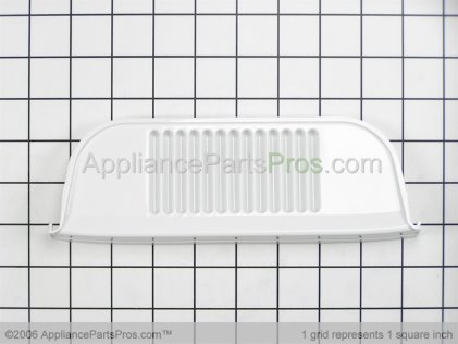 Whirlpool Grille, White 61003411 from AppliancePartsPros.com