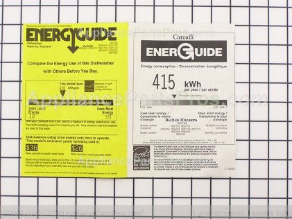 Whirlpool Guide, Energy 99002667 from AppliancePartsPros.com