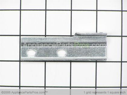 Whirlpool Handle Bracket, Left Side (stainless Steel) 4455804 from AppliancePartsPros.com