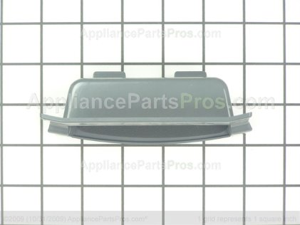 Whirlpool Handle, Door Assembly (lh) (pewter) 3980210 from AppliancePartsPros.com