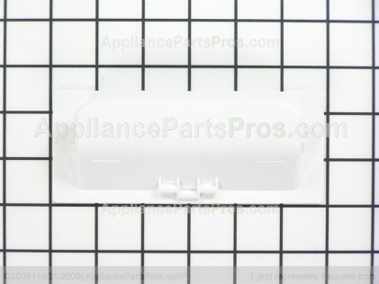 Whirlpool Handle, Door (white) 3389522 from AppliancePartsPros.com