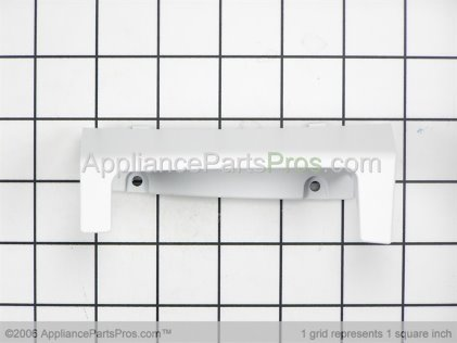 Whirlpool Handle, Door (white) 8182591 from AppliancePartsPros.com