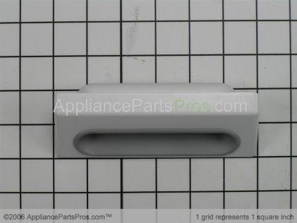 Whirlpool Handle, Door (white) 8536933 from AppliancePartsPros.com