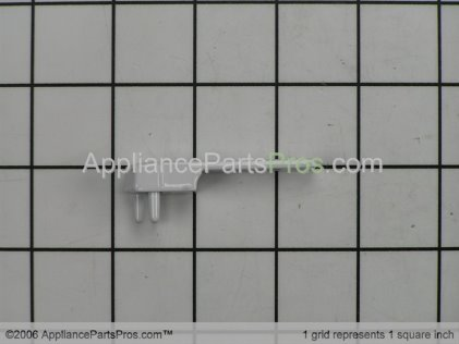 Whirlpool Handle End, Top (white) 9791776 from AppliancePartsPros.com