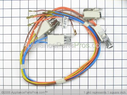 Whirlpool Harness, Wire (surface Unit) 3190716 from AppliancePartsPros.com