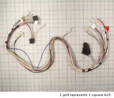 Whirlpool Harns-Wire 8275394 from AppliancePartsPros.com