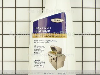 Whirlpool Heavy Duty Degreaser 31552A from AppliancePartsPros.com