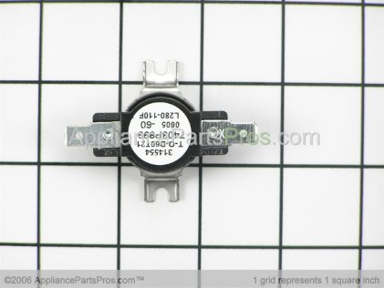 Whirlpool Hi-Limit Thermostat 74009837 from AppliancePartsPros.com
