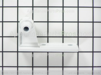 Whirlpool Hinge, Center (wht) 63001411 from AppliancePartsPros.com