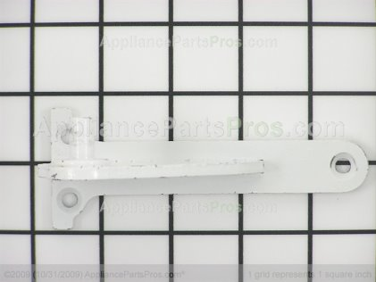 Whirlpool Hinge, Center (wht) 67006277 from AppliancePartsPros.com
