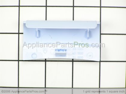 Whirlpool Hinge Cover, Inner (blue) 8181876 from AppliancePartsPros.com
