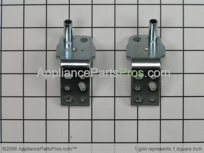 Whirlpool Bottom Door Hinge Kit 4386946 from AppliancePartsPros.com