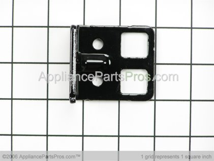 Whirlpool Hinge, Lower (blk) 61002361 from AppliancePartsPros.com