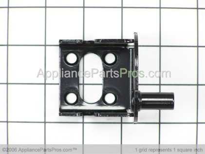 Whirlpool Hinge, Right Bot-E Ct (blk) 12570906ED from AppliancePartsPros.com
