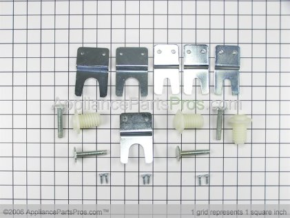 Whirlpool Hold Down Kit 346764 from AppliancePartsPros.com