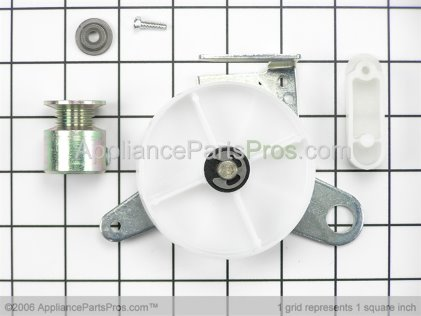 Whirlpool Idler, Pulley & Sleev W10116792 from AppliancePartsPros.com