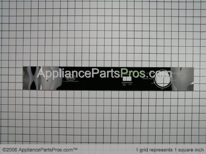Whirlpool Insert, Console (black) 8051736 from AppliancePartsPros.com