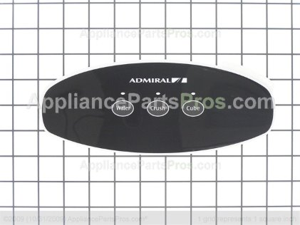 Whirlpool Insert, Facade (blk) 67005342 from AppliancePartsPros.com