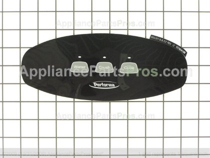 Whirlpool Insert, Facade (blk) 67005756 from AppliancePartsPros.com