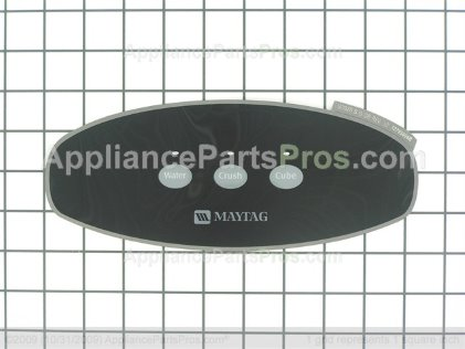 Whirlpool Insert, Facade (blk) 67005801 from AppliancePartsPros.com