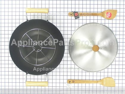 Whirlpool Jenn-Air Flat Bottom Wok Accessory AO142 from AppliancePartsPros.com