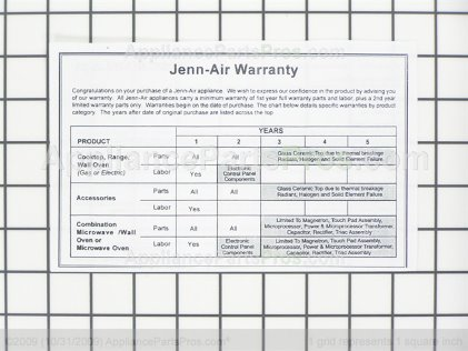 Whirlpool Jenn-Air Gas Top Griddle Accessory JGA8200ADX from AppliancePartsPros.com