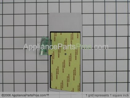 Whirlpool Key Membrane (stainless) 8183627 from AppliancePartsPros.com