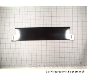 Whirlpool Kick Board ((black)) 4171618 from AppliancePartsPros.com
