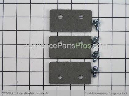 Whirlpool Kit, Brake Pad R0000014 from AppliancePartsPros.com