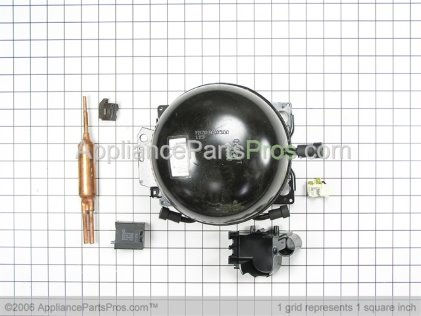 Whirlpool Kit, Compressor (R134A) 115V 12001378 from AppliancePartsPros.com