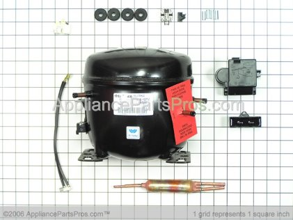 Whirlpool Kit, Compressor (R134A) 12001872 from AppliancePartsPros.com