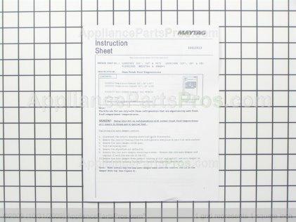 Whirlpool Kit, Sxs Warm F.f. Temperature 12001904 from AppliancePartsPros.com
